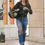 Sofia Vergara in a Blue Ripped Jeans Leaves the Medical Spa in Beverly Hills