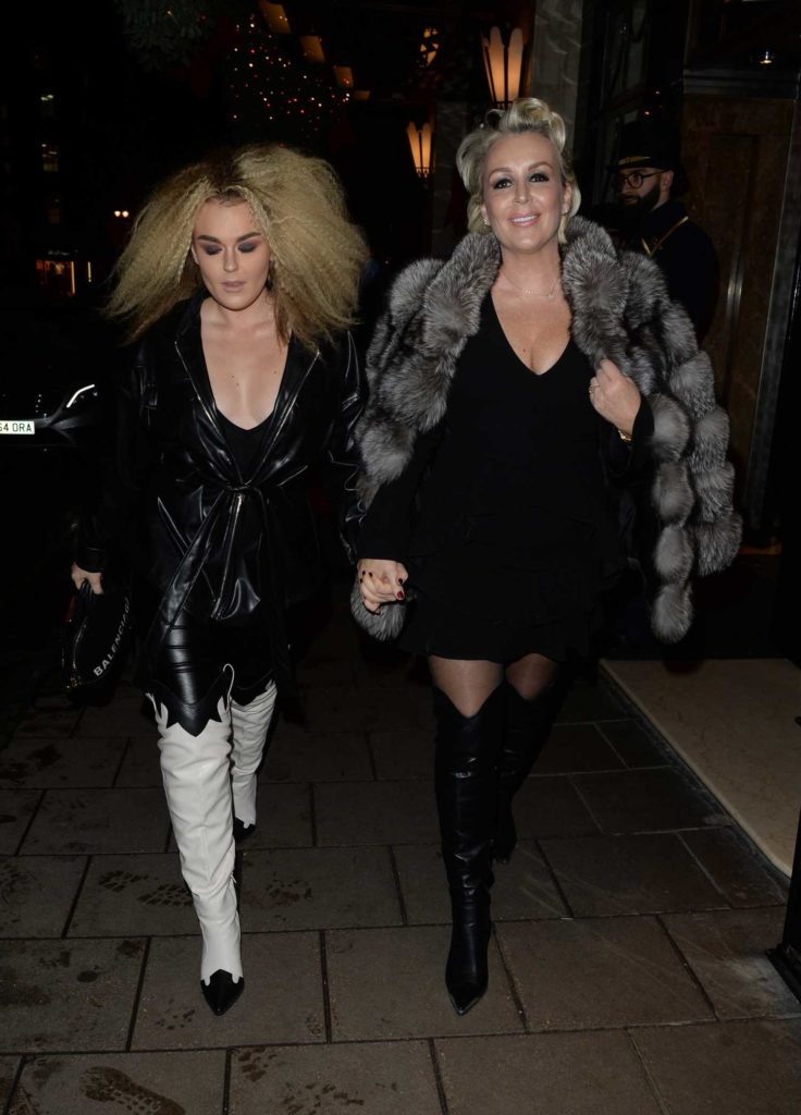 Tallia Storm in a Black Jacket