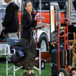 Jessica Alba on the Set of L.A's Finest in Los Angeles
