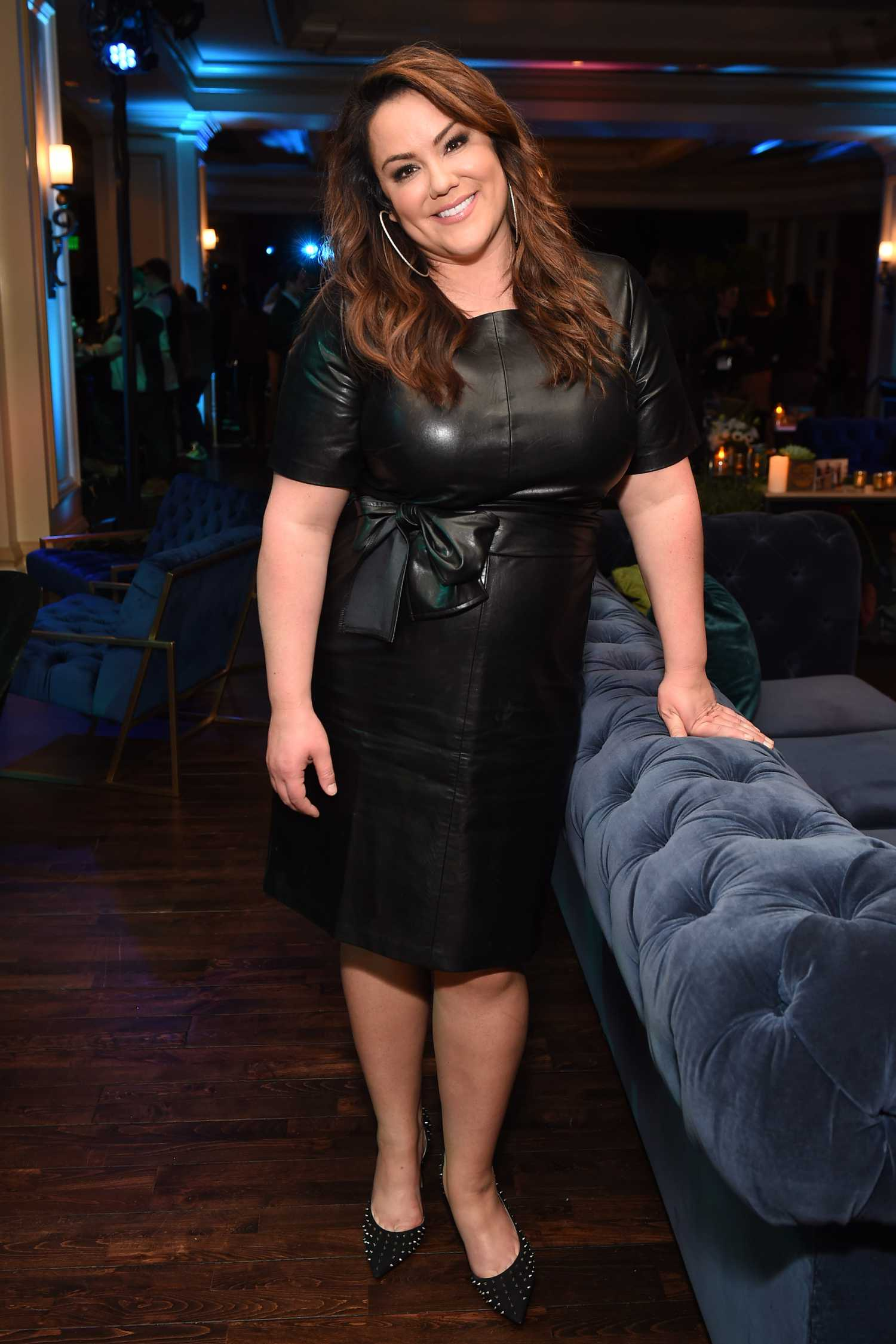 Katy Mixon Attends the ABC Television's Winter Press Tour