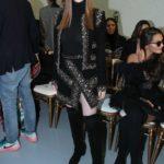 Larsen Thompson Attends the Ellie Saab Fashion Show During 2020 Paris Fashion Week in Paris