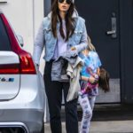 Megan Fox in a Gray Knit Hat Was Seen Out with the Family in Los Angeles
