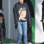 Mila Kunis in a White Sneakers Was Seen Out in Beverly Hills