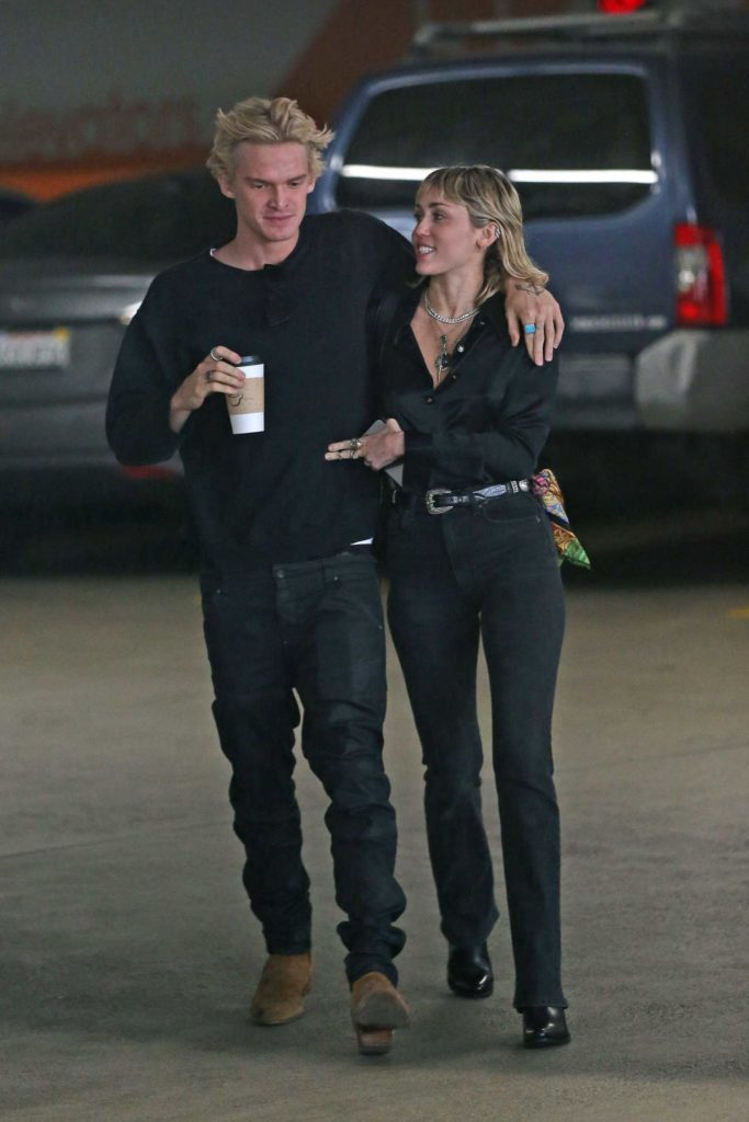 Miley Cyrus Was Seen Out With Cody Simpson In La Celeb Donut