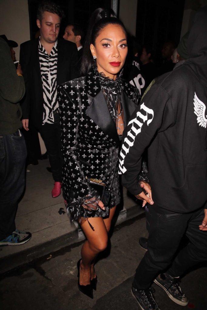 Nicole Scherzinger in a Black Blazer