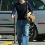 Rachel Bilson in a White Sneakers Goes Shopping in Los Angeles
