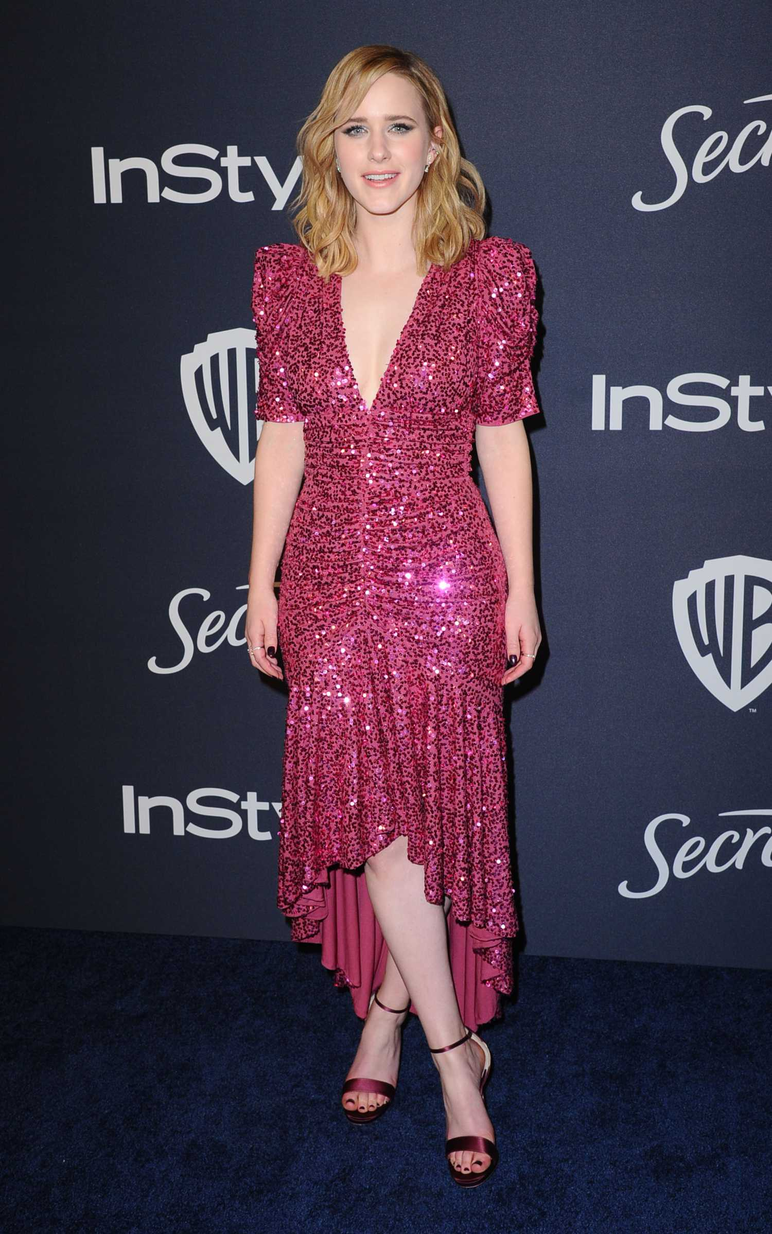 Rachel Brosnahan Attends the 21st Annual Warner Bros and