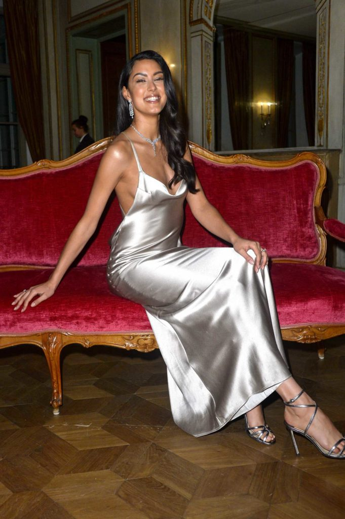 Rebecca Mir Attends the 47th German Film Ball at the Hotel