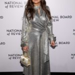 Salma Hayek Attends 2020 National Board of Review Gala at Cipriani 42nd Street in New York