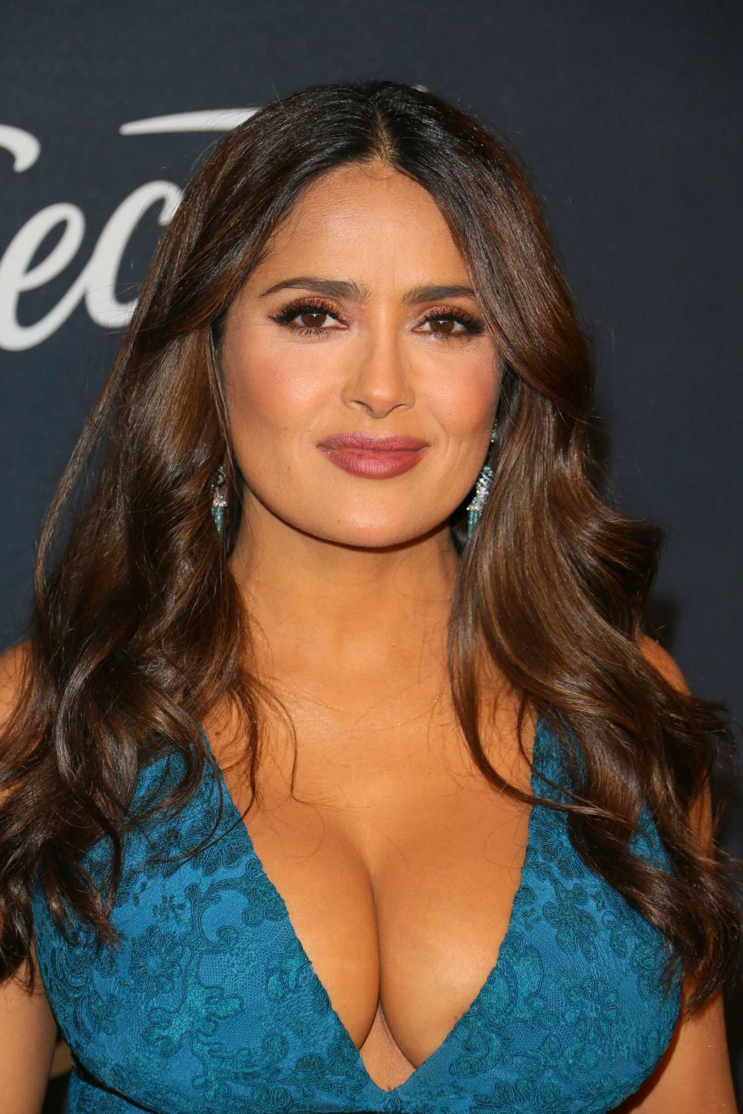 Salma Hayek at 2018 Heavenly Bodies: Fashion and The