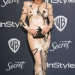 Shay Mitchell Attends the 21st Annual Warner Bros and InStyle Golden Globe After Party in Beverly Hills