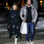 Sofia Richie in a Black Coat Was Seen Out with Scott Disick in Aspen