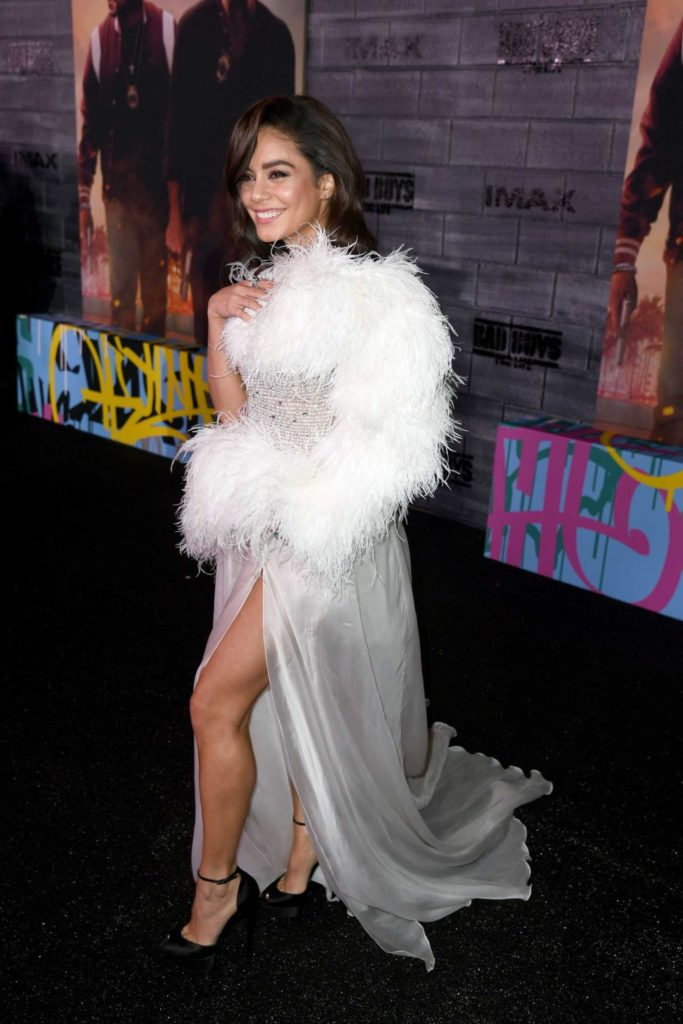 Vanessa Hudgens Attends The Bad Boys For Life Premiere In