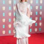 Alice Eve Attends 2020 EE British Academy Film Awards at Royal Albert Hall in London