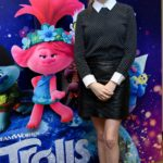 Anna Kendrick Attends the Trolls World Tour Press Conference in Glendale