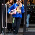 Dua Lipa in a Blue Sweatshirt Was Seen Out in New York City