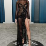 Hailey Baldwin Attends the 92nd Academy Awards Vanity Fair Oscar Party in Beverly Hills