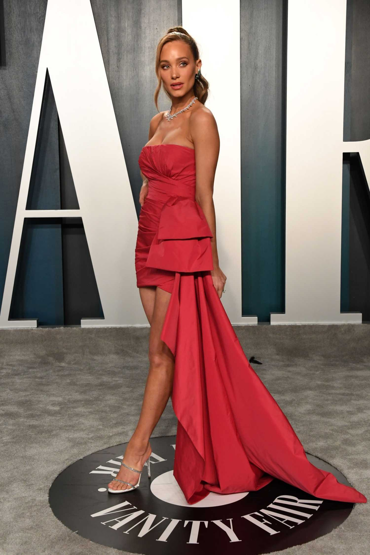 Hannah Jeter Attends the 92nd Academy Awards Vanity Fair