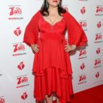 Jennifer Tilly Attends the American Red Heart Association's Go Red for Women Red Dress Collection in New York