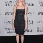 Katherine McNamara Attends the Vanity Fair and Lancome Women in Hollywood Celebration at SoHo House in West Hollywood