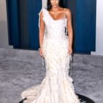 Kim Kardashian Attends the 92nd Academy Awards Vanity Fair Oscar Party in Beverly Hills