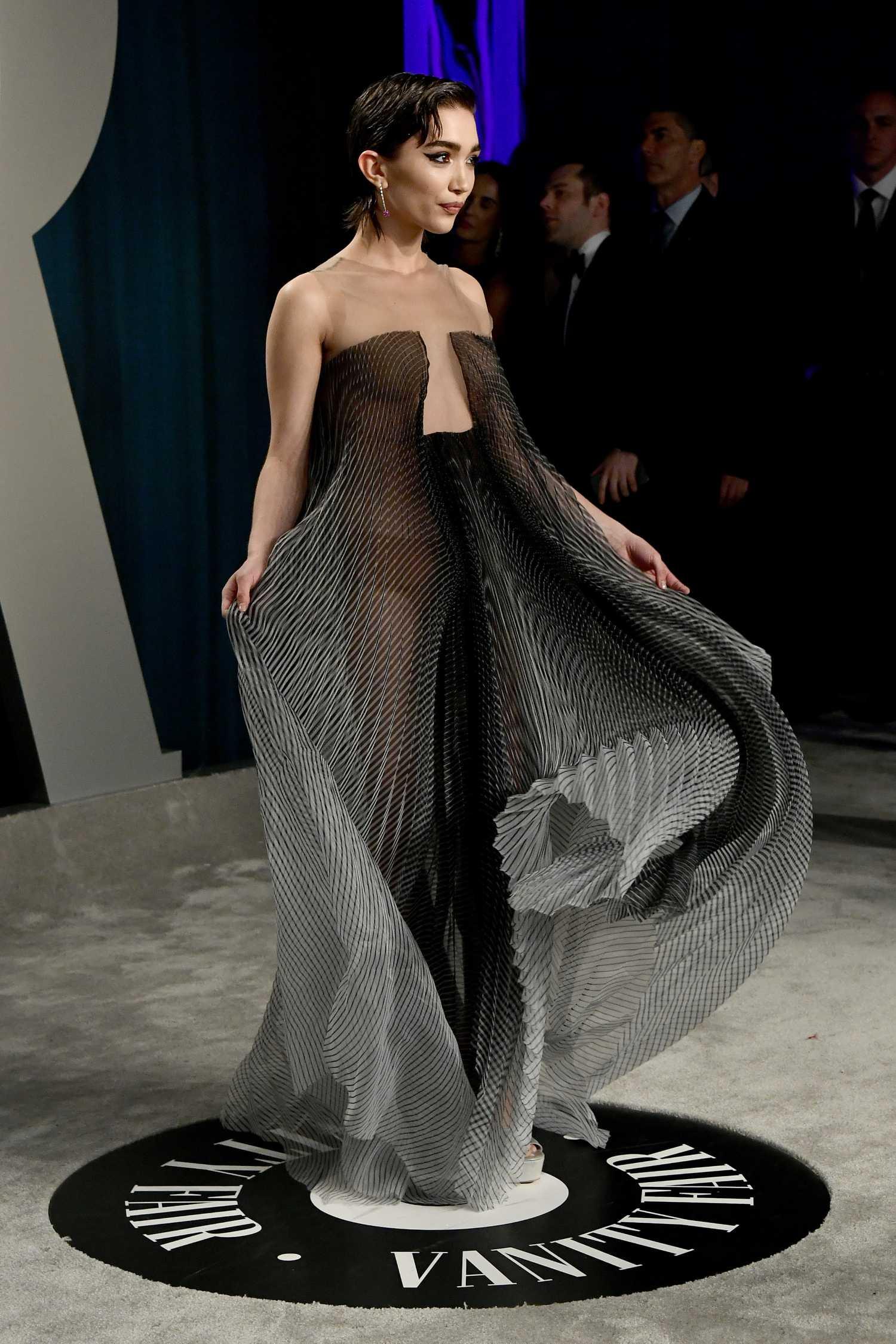 Rowan Blanchard Attends the 92nd Academy Awards Vanity