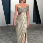 Scarlett Johansson Attends the 92nd Academy Awards Vanity Fair Oscar Party in Beverly Hills