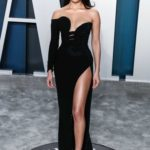 Shanina Shaik Attends the 92nd Academy Awards Vanity Fair Oscar Party in Beverly Hills
