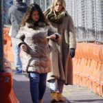 Sienna Miller in a Beige Coat Was Seen Out in New York