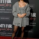 Taylor Russell Attends the Vanity Fair: Hollywood Calling Exhibition in Los Angeles