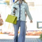 Whitney Port in a Striped Pants Was Seen Out in Los Angeles