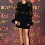 Ashley James Attends the Mulan European Premiere in London