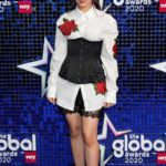 Camila Cabello Attends 2020 Global Awards in London
