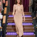 Eiza Gonzalez Attends The Late Late Show with James Corden in New York City