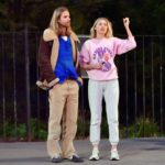 Elsa Hosk in a Pink Sweatshirt Was Seen Out with Tom Daly in New York