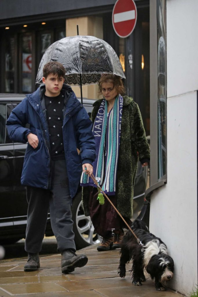 Helena Bonham Carter Was Seen Out with Her Son Billy ...