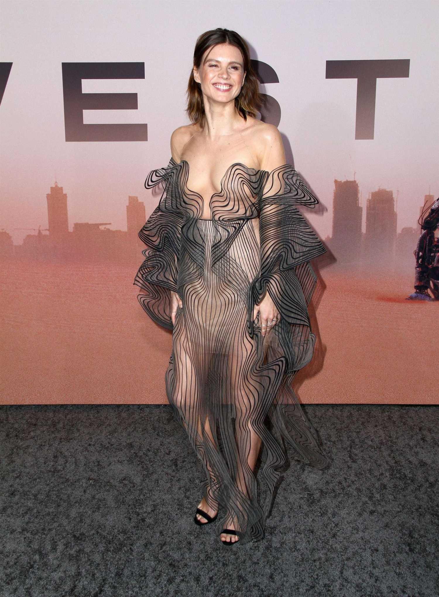 Katja Herbers Attends The Westworld Season Premiere