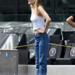 Nicola Peltz in a White Tank Top Was Seen Out in Fort Lauderdale