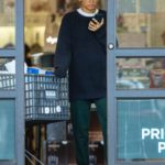 Zendaya in a White Nike Sneakers Goes Shopping in Los Angeles