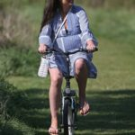 Chantelle Houghton Does a Bike Ride in Essex