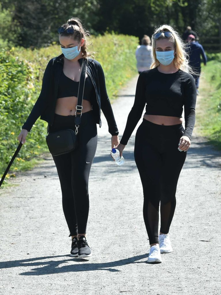 Chloe Ross in a Surgical Face Mask