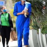 Diane Kruger in a Blue Jumpsuit Was Seen Out in West Hollywood