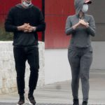 Katy Perry in a Face Mask Goes Shopping for Supplies Out with Orlando Bloom at Target Store in Los Angeles