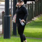 Rebel Wilson in a Black Cap Was Seen at a Park in Sydney