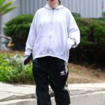 Rooney Mara in a Black Adidas Track Pants Was Seen Out in Los Angeles