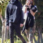 Sydney Brooke in a Camo Pants Was Seen Out in Malibu