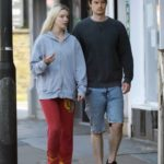 Anya Taylor-Joy in a Gray Hoody Was Seen Out with Her Boyfriend Ben Seed in London