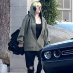Billie Eilish in a Black Ripped Jeans Was Seen Out with Her Brother in Los Angeles