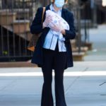 Chloe Sevigny in a Protective Mask Was Seen Out with Her Newborn in New York