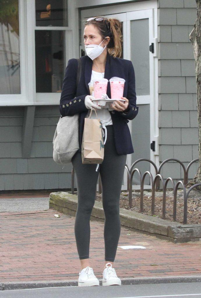 Cristina Cuomo in a Protective Mask